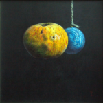 Stephen Lovatt painting: Movement to an eclipse